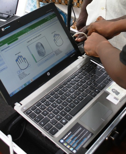 2Gemalto - Enregistrement biometrique Gabon