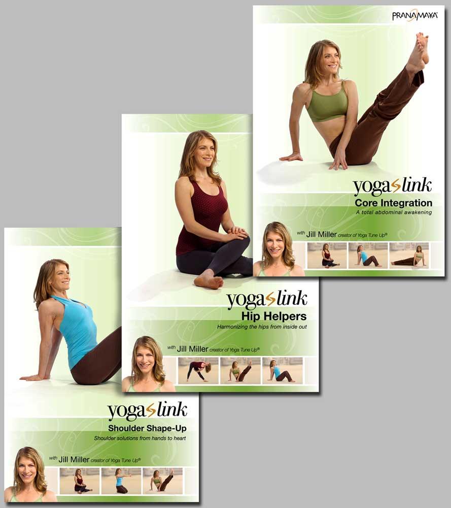 Yoga Link 3 DVD set