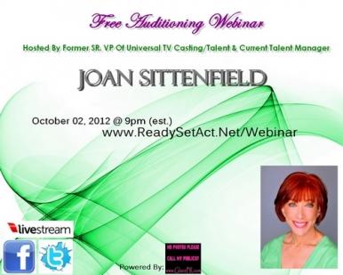 Joan Sittenfield Webinar