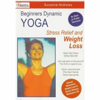 New Beginners Dynamic Yoga Release Stress and Lose Weight DVD/CD Set