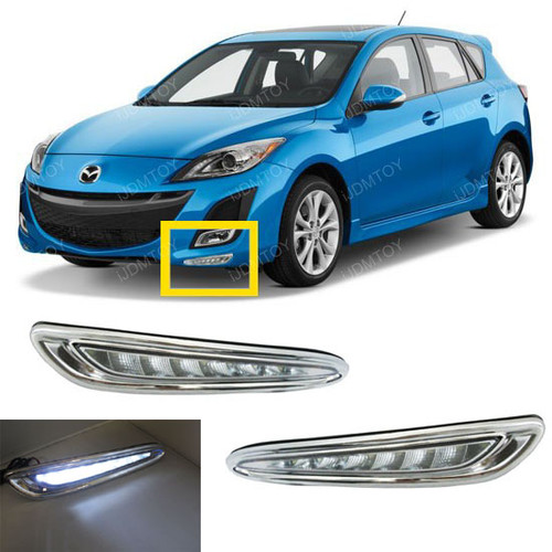 2010 up Mazda3 LED Daytime Running Lights