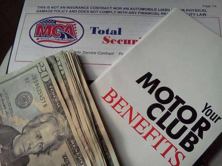 Motor Club Total Security Package
