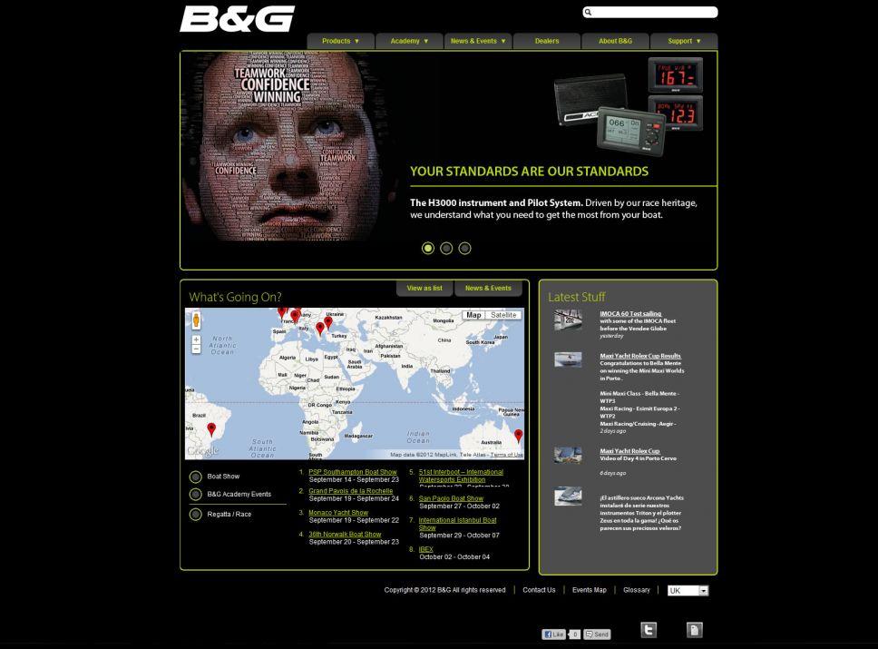 B&G Homepage