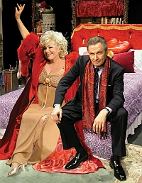 Renee Taylor & Joe Bologna Stage Photo