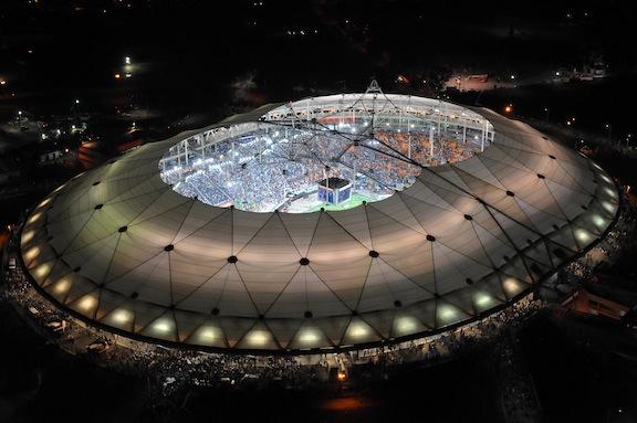 La Plata Stadium in La Plata, Argentina