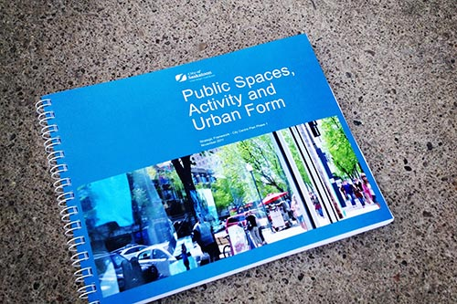 The report on public space has received many awards since its completion in 2011