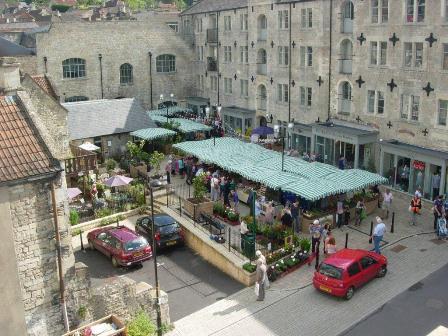 The Lamb Yard - Market Day (w)