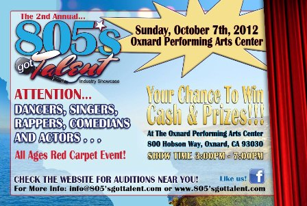 805s Got Talent Flyer