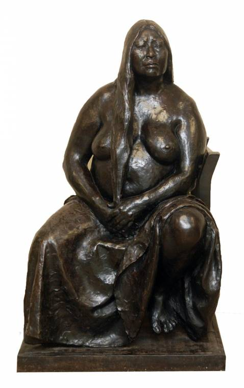 Francisco Zuniga bronze sculpture