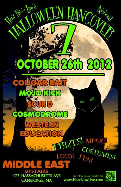 Halloween Hangover 7 Event Poster