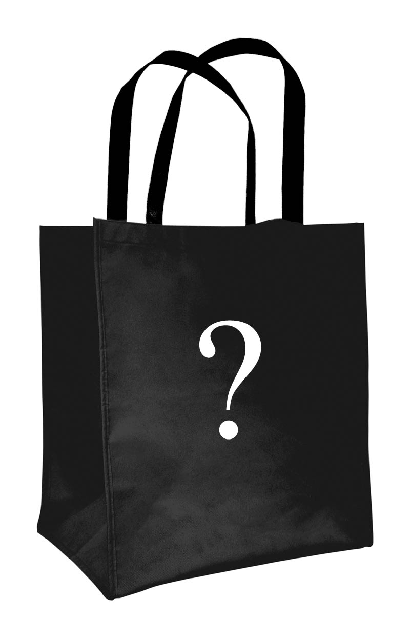 What slithering horrors await inside the black bag?