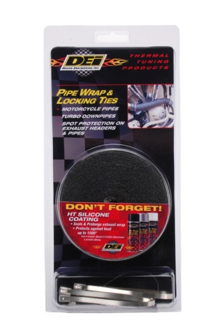 DEI Pipe Wrap & Locking Ties Kit