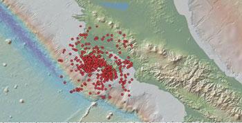 aftershocks in Costa Rica (foto: ovsicori)