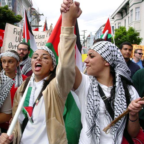 Palestinian Women.