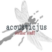 """acousticjus logo round 1"""""""