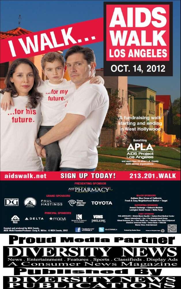 DIVERSITY NEWS MAGAZINE MEDIA PARTNER OF AIDS WALK
