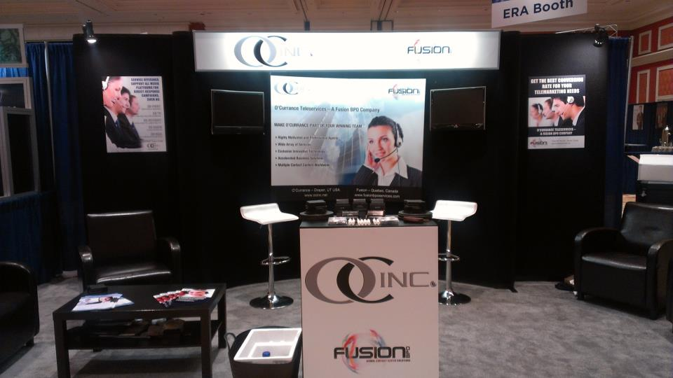 O'Currance Teleservices Booth at ERA D2C