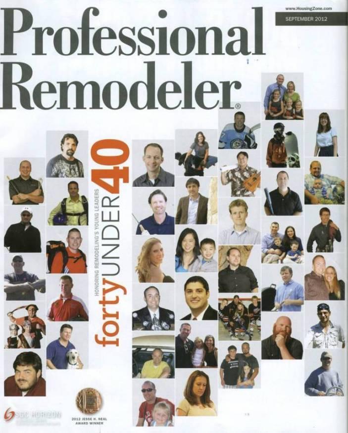 Jason Parsons - Professional Remodeler 40 Under 40