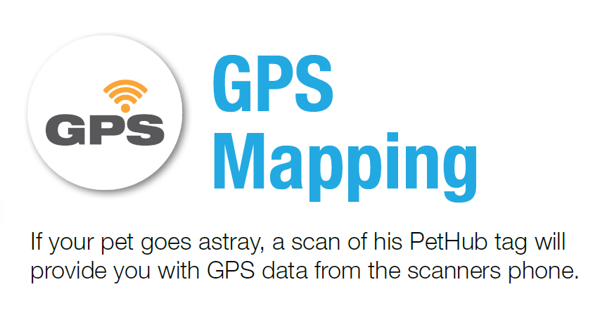 PetHub GPS Notifications w/ Interactive Mapping