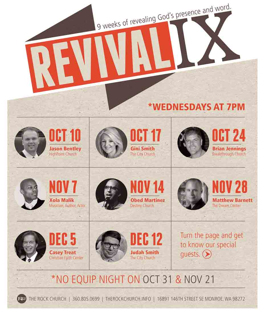 REVIVAL IX at The Rock Church