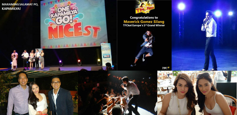 One Kapamilya Go in Nice France was a huge success for TFC Europe & ABS-CBN RNG.