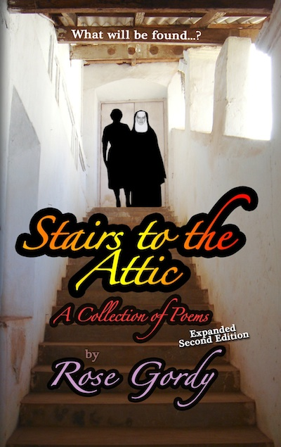 Stairs the the Attic - Cover - Rose Gordy