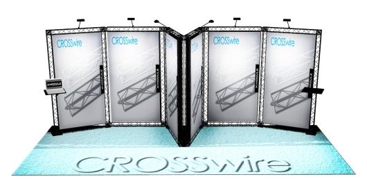 CROSSwire Modular Stand System 200m2