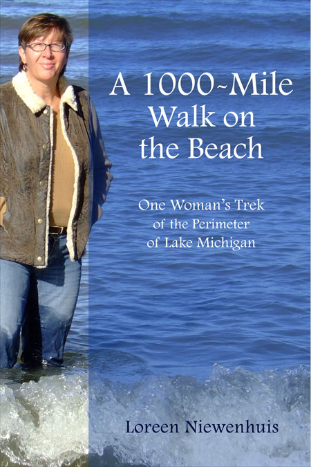 Niewenhuis's first book, A 1000-Mile Walk on the Beach