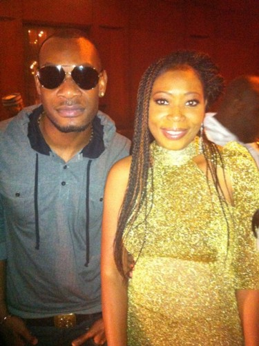 Monalisa and artist DPrince (Don Jazzy Brother)