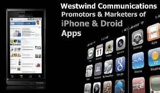 Westwind iPhone App Publicity