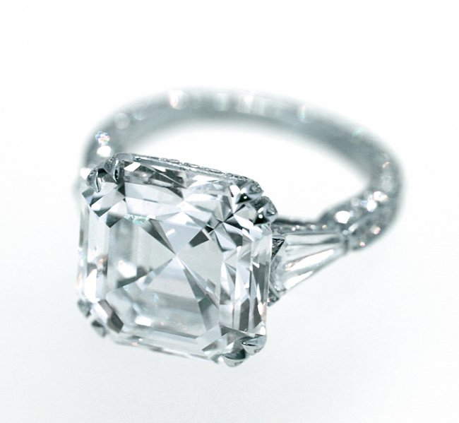 Carat Purple Diamond Ring Worth About  Million