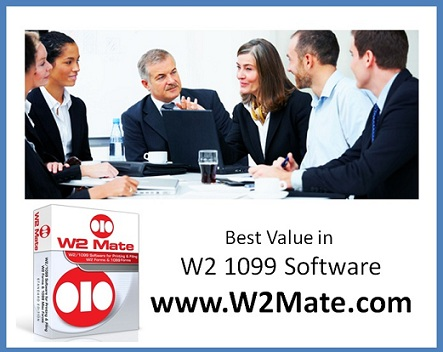 W2 1099 Software from W2Mate.com