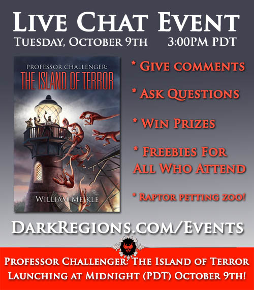 Professor Challenger Live Chat Event