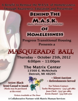 Behind the M.A.S.K. of Homelessness