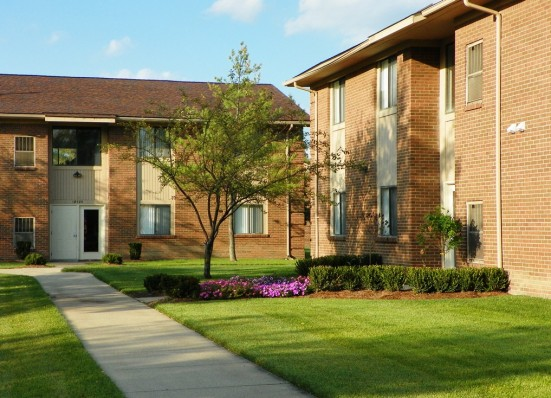 Tanglewood Apartments, Woodhaven, Mich.