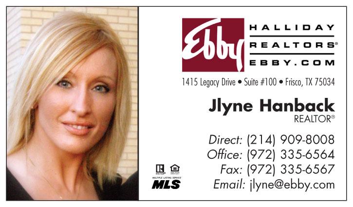 Jlyne Hanback, Sales Associate, Ebby Halliday, REALTORS®