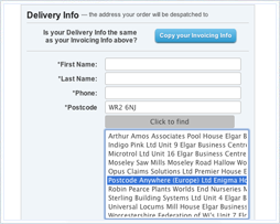 ESE Direct improves conversion rates with Postcode Anywhere