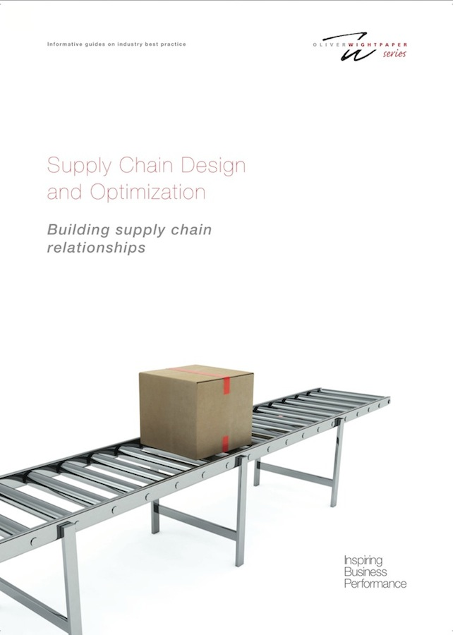 Supply Chain Design and Optimization White Paper