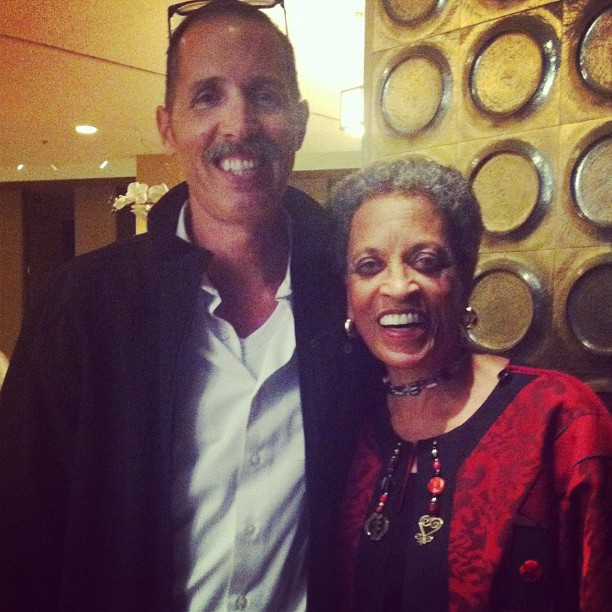 'Astronaut Teacher' Mike Mongo and Smithsonian's Dr Johnetta Cole at 100YSS.