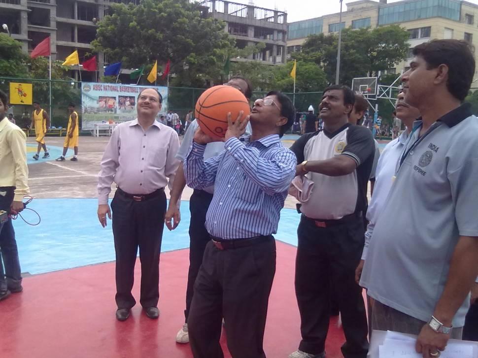 Ajit Banerjee, President of BOA, opens the grand meet