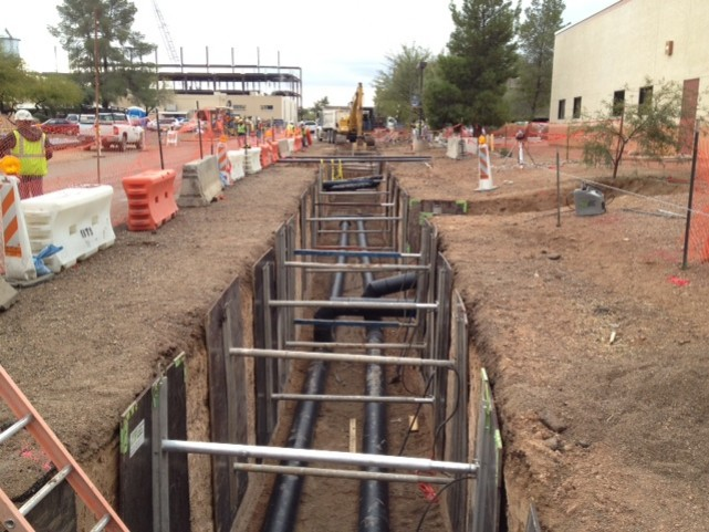 Good Trench Shoring Practice Aluminum Trench Jacks