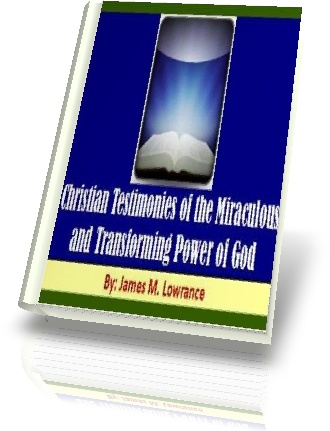 eBook Cover-Christian Testimonies by James Lowranc