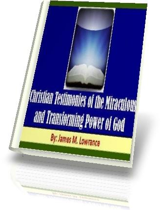 eBook Cover-Christian Testimonies by James Lowranc