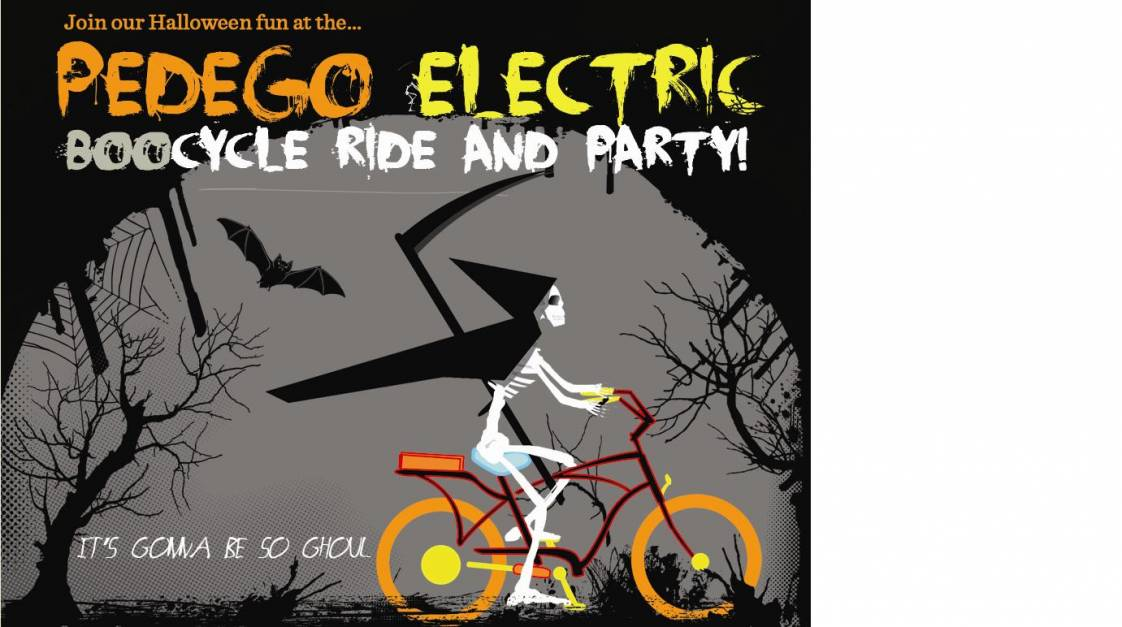Pedego riders and pals are invited for Halloween fun in Huntington Beach.