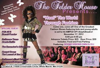 Felder House Inc. Fashion Show Invitation