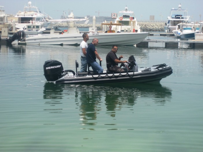 Military Rigid Inflatable Boat 4.2m