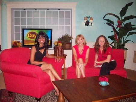 Candace with Hosts Cyndi Edwards, Lindsay MacDonald