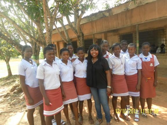 Nkechi's October 2012 Visit to KP Girls In Nigeria