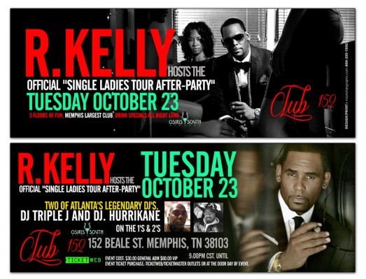 R. Kelly flyer Club 152