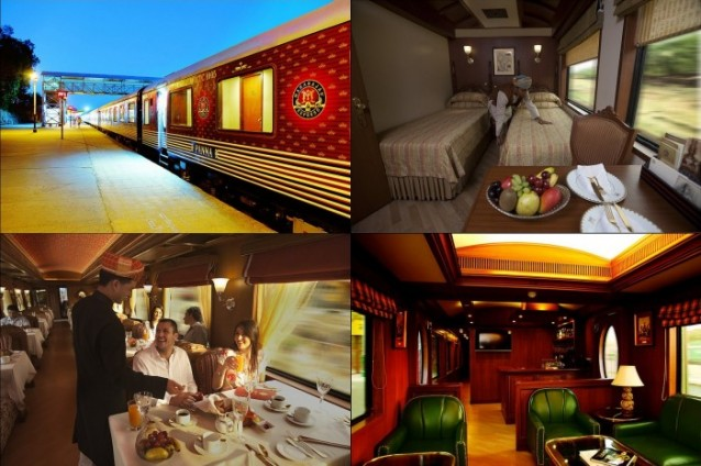 Maharajas Express Luxury Train,India
